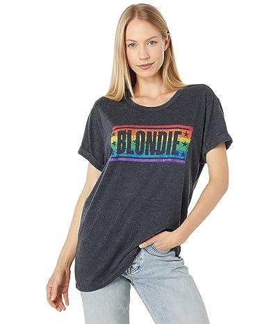 Chaser Blondie Rainbow Tri-Blend Jersey Rolled Tee