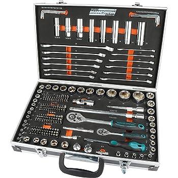 Brüder Mannesmann Werkzeuge M98432 Juego de llaves tubulares (232 piezas): Amazon.es: Bricolaje y herramientas