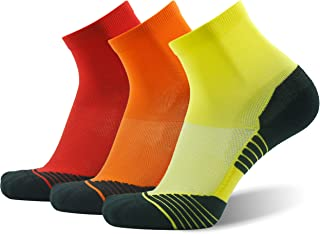 Men's Tennis Socks, HUSO Performance Sports Ankle Compression Socks 1,2,3 Pairs