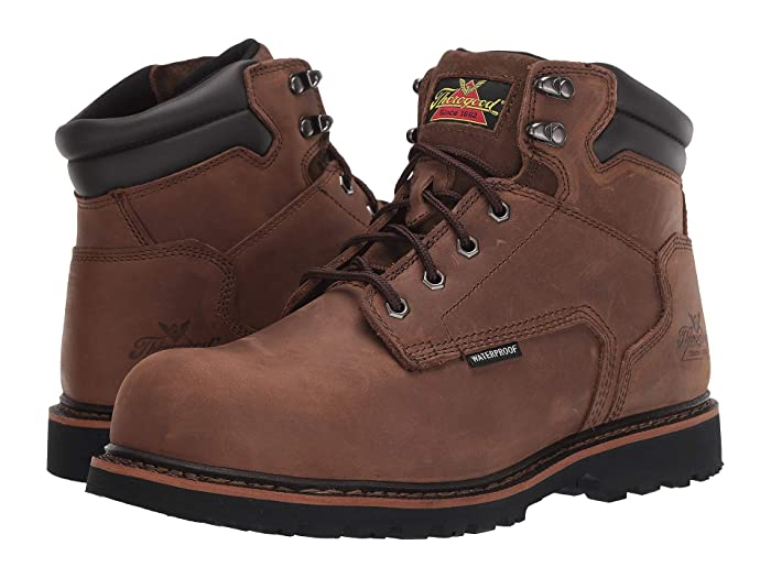 Thorogood  6 V Series Waterproof Comp Toe (Brown) Mens Boots