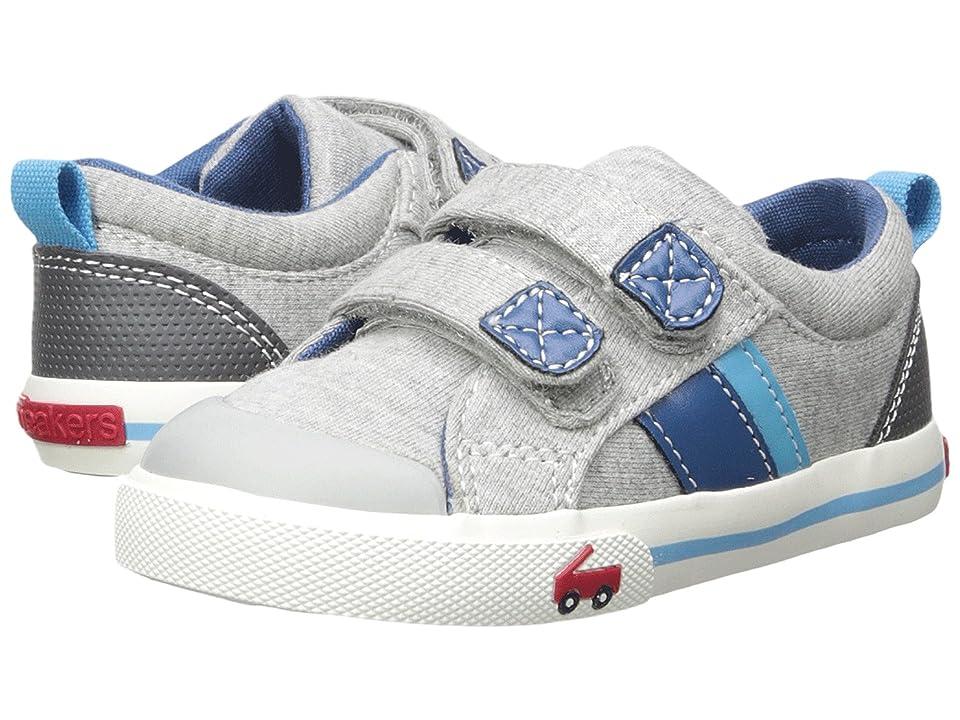 See Kai Run Kids Russell (Toddler/Little Kid) (Gray Jersey) Boys Shoes