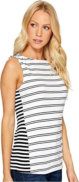 Santorini & Mykonos Striped Tank Top