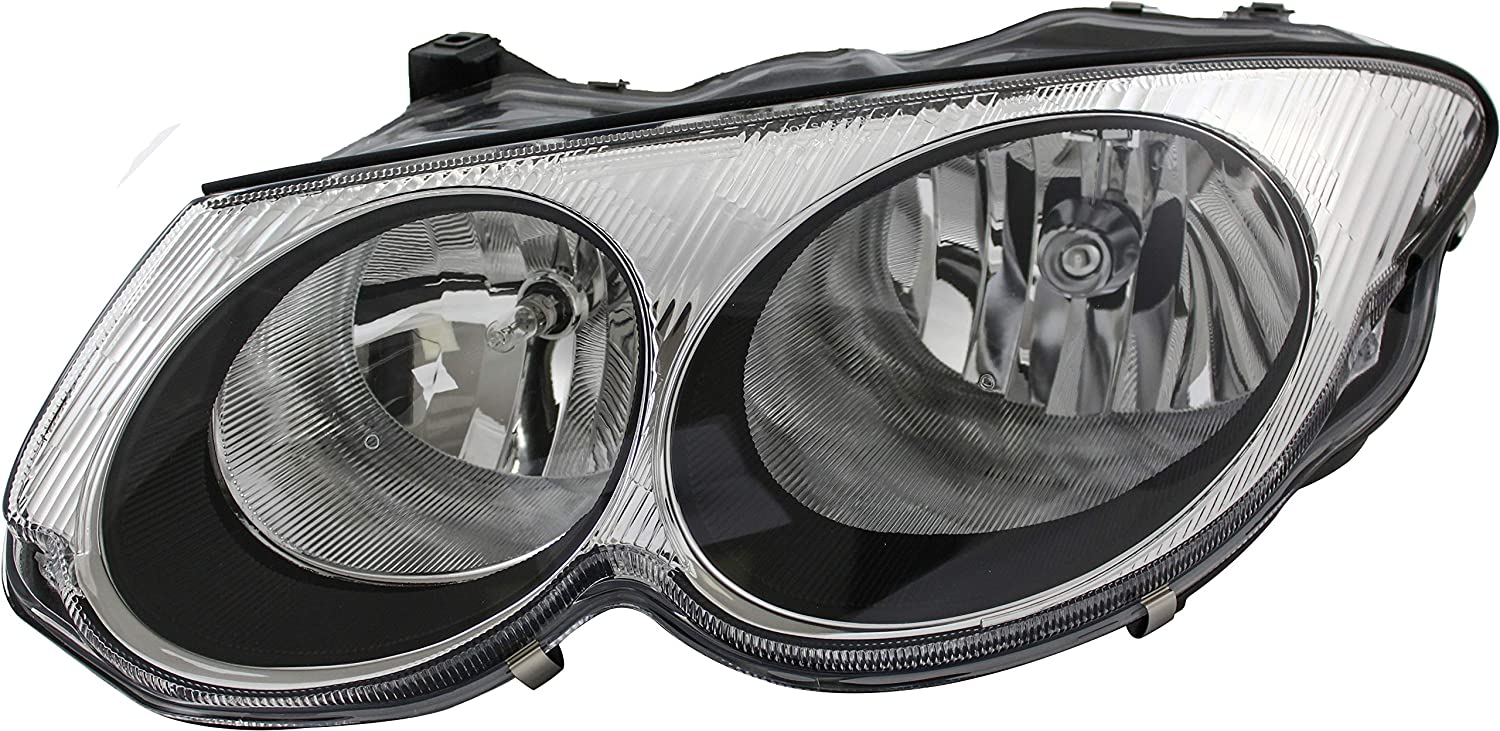 JP Auto Headlight Compatible With Chrysler 2000 宅配便送料無料 2001 評価 300M 1999 2