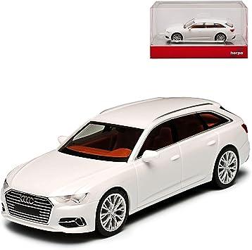 A U D I A6 C8 Avant Kombi Ibis Weiss Ab 2018 H0 1 87 Herpa Modell Auto Mit Individiuellem Wunschkennzeichen Spielzeug