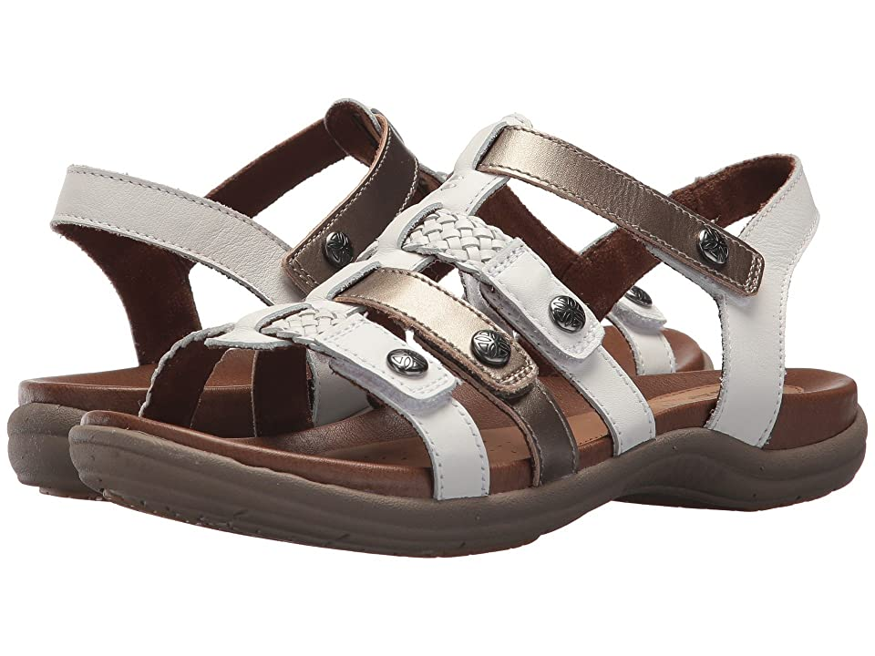 Rockport Cobb Hill Collection Cobb Hill Rubey T Strap (White Multi) Women