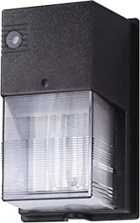 Lithonia Lighting W70SPL 120 M6 Wall Mounted Polycarbonate Cover with Dusk-to-Dawn Photocell, 120 Volts, 70 Watts, Bronze