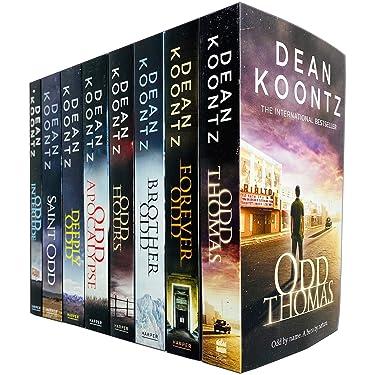 Odd Thomas Series Complete 8 Books Collection Set by Dean Koontz (Odd Thomas, Forever Odd, Brother Odd, OddHours, Odd Apocalypse, Deeply Odd, Saint Odd & Odd Interlude)