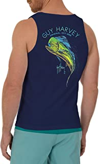 Guy Harvey Men's Offshore Fish Collection Tank Top