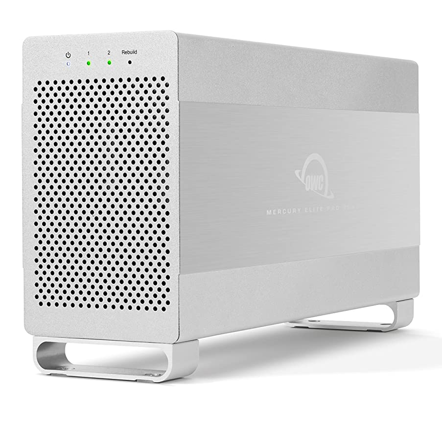 2.0TB OWC Mercury Elite Pro Dual RAID USB 3.1 / eSATA Storage Solution