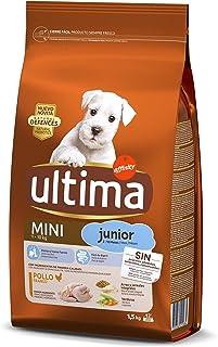 comprar comparacion Ultima Pienso para Perros Mini Junior con Pollo - 1.5 kg