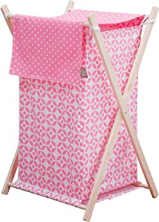 Trend Lab Lily Hamper Set, Pink