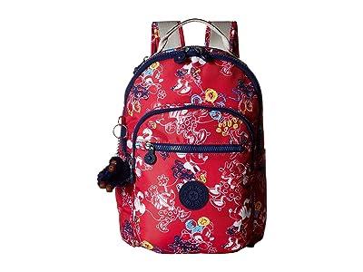Kipling Minnie Seoul Go Small Print Backpack (Doodle Pink) Backpack Bags