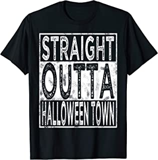 Straight Outta Halloween Town T-Shirt Halloween Costume Men T-Shirt