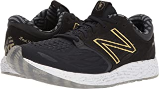 (ニューバランス) New Balance メンズランニングシューズ?スニーカー?靴 NYC Zantev3 Black/Gold 11.5 (29.5cm) D - Medium