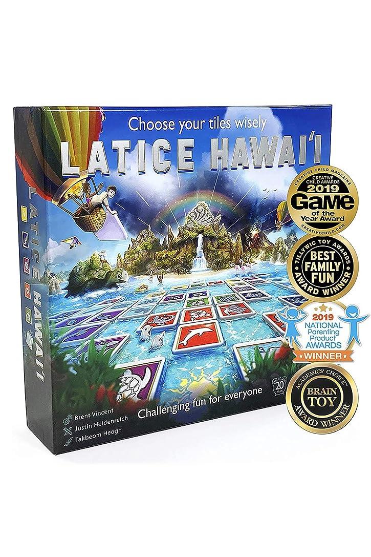 幻影教室く[全米で多数の賞受賞!]Latice Hawaii 戦略ボードゲーム こどもから大人まで楽しめるファミリーゲーム 日本語説明書付属 正規品