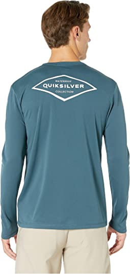 2c83995a3b Quiksilver waterman thunnus long sleeve tee + FREE SHIPPING | Zappos.com