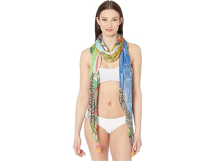 Echo New York Pchwork Pareo Wrap Multi Swimwear
