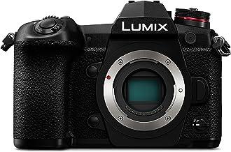 Panasonic Lumix DC-G9 Cámara EVIL de 20.3MP (20fps AFC RAW, Estabilizador óptico de 5 Ejes, Live Mos, 4K Ultra HD, Pantalla táctil), Negro