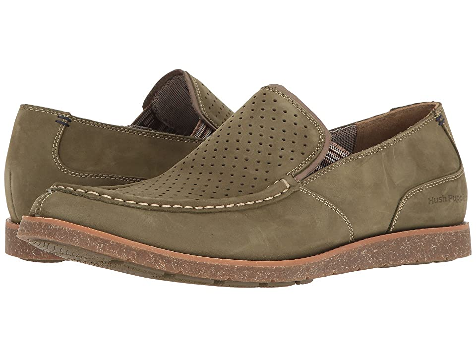 Hush Puppies Lorens Jester (Olive Nubuck) Men