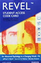 Revel for Abnormal Psychology in a Changing World -- Access Card (10th Edition)