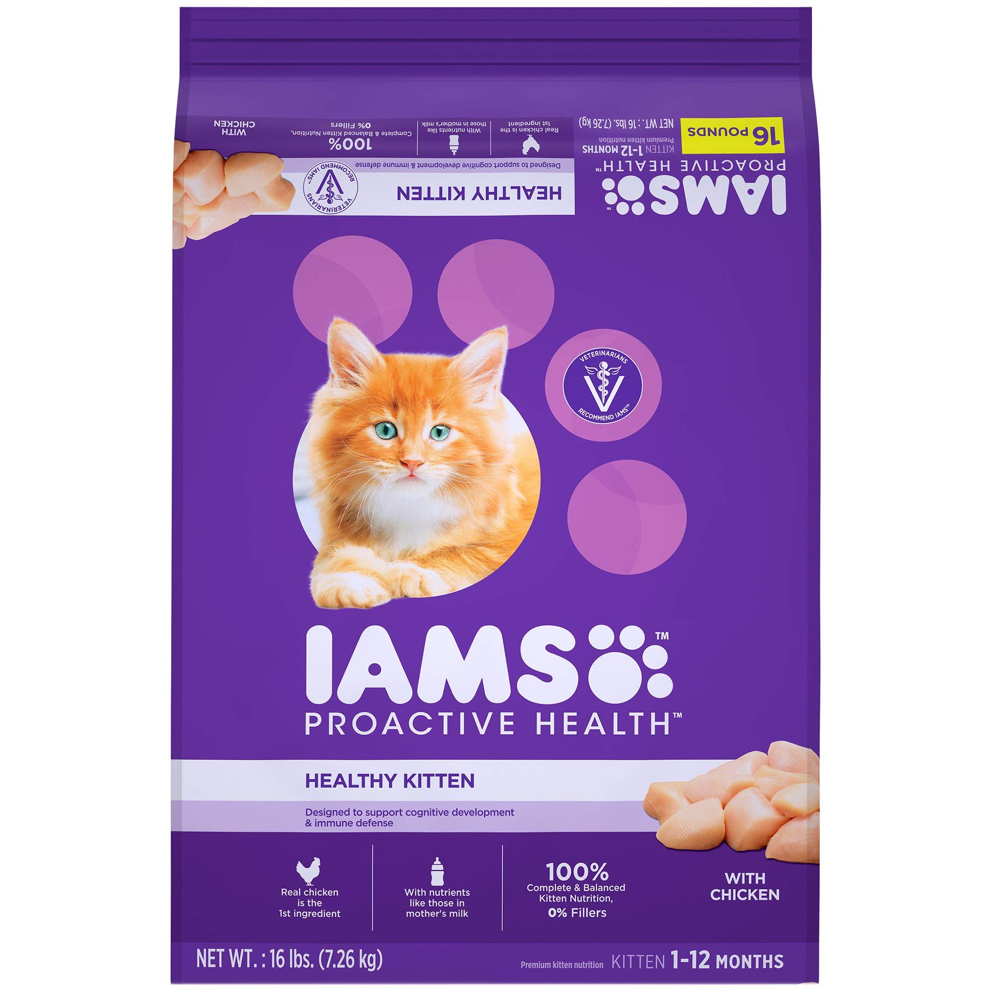 7 3kg Iams Proactive Health Kitten Dry Cat Food Amazon Com Au Pet Supplies