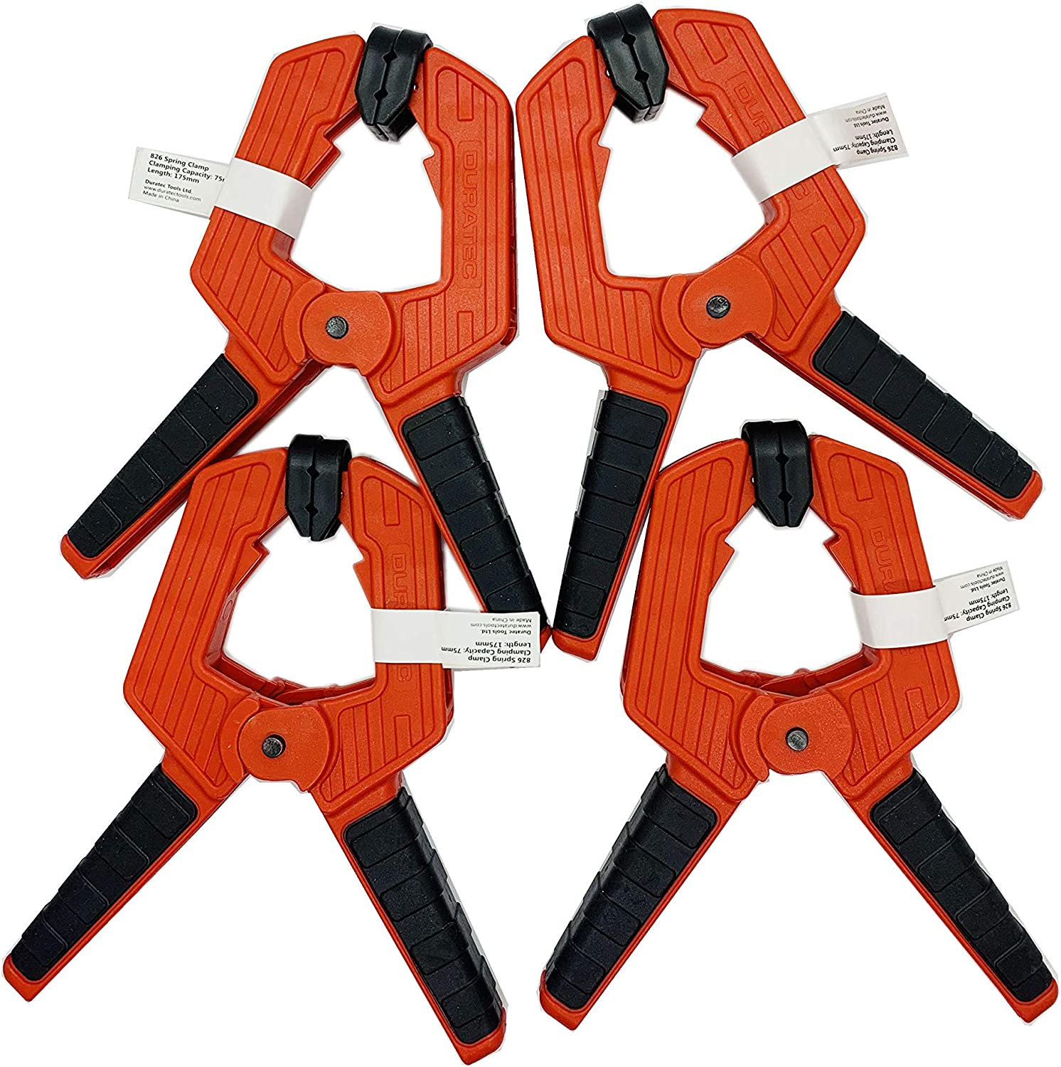 Max 73% OFF Fladess #826 Spring Clamp set 4 New life 7inch of