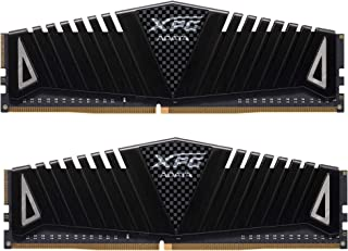 XPG Z1 DDR4 3600MHz (PC4 28800) 16GB (2x8GB) CL18 Gaming Memory Modules, Black (AX4U360038G18A-DBZ1)