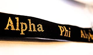 Alpha Phi Alpha Fraternity New Woven Embroidered Lanyard