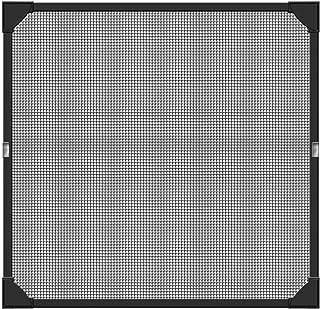 Schellenberg 50748 moskitiera okienna z magnetyczną ramą, elastyczna rama z tworzywa sztucznego
