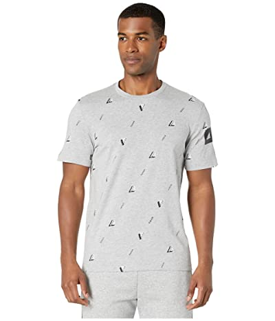 adidas Must Have Graphics Tee (Medium Grey Heather) Men