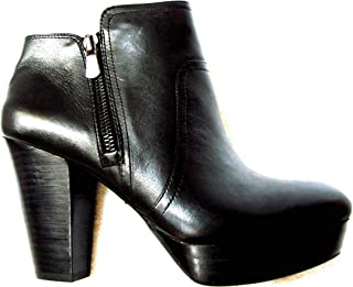 Giani Bini New in Box Black Take Too Leather Ankle Bootie 8.5 M