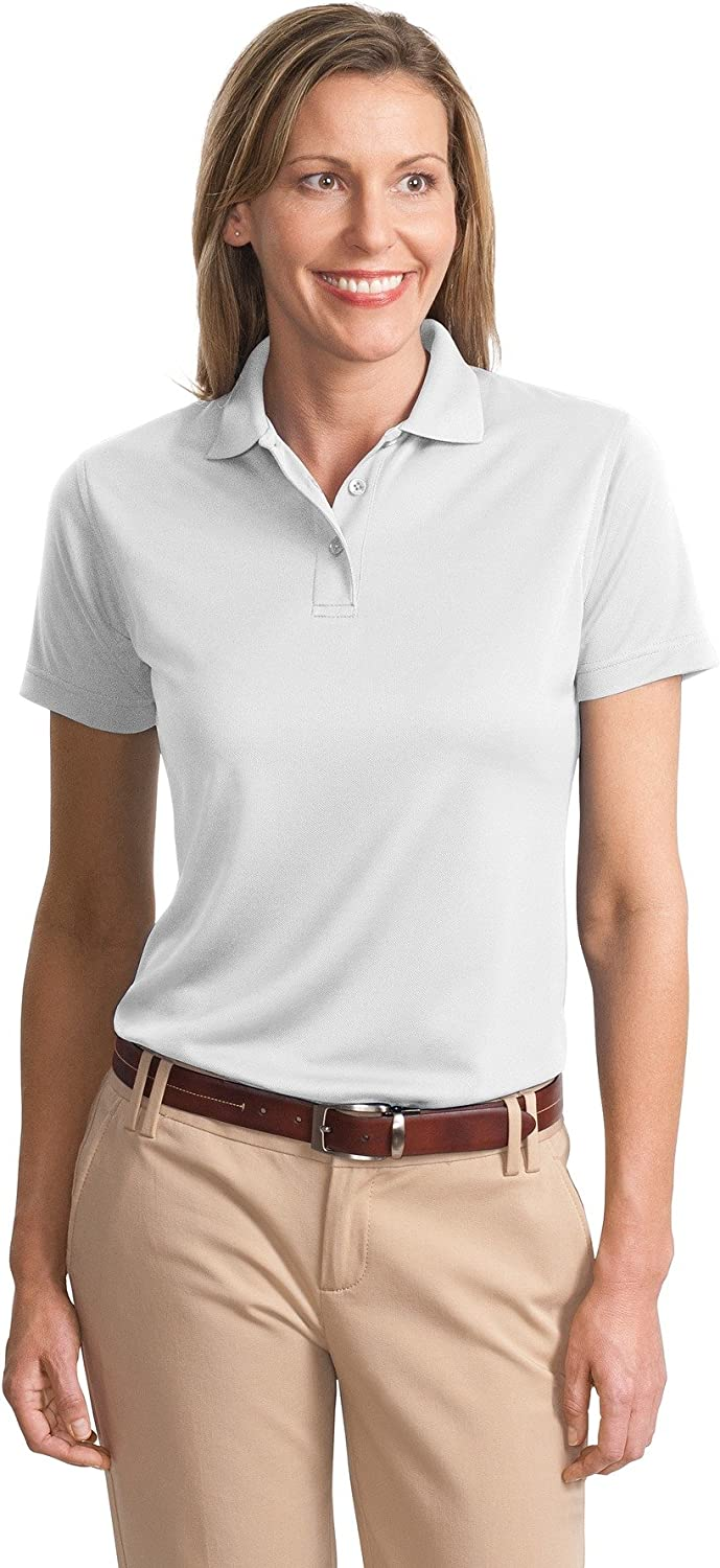 Port Authority Women's Poly Bamboo Charcoal Blend Pique Polo