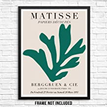Papiers Découpés Matisse Art Gallery Exhibition Poster 11x14 UNFRAMED Henri Matisse Artwork Reproduction Modern Home Decor...