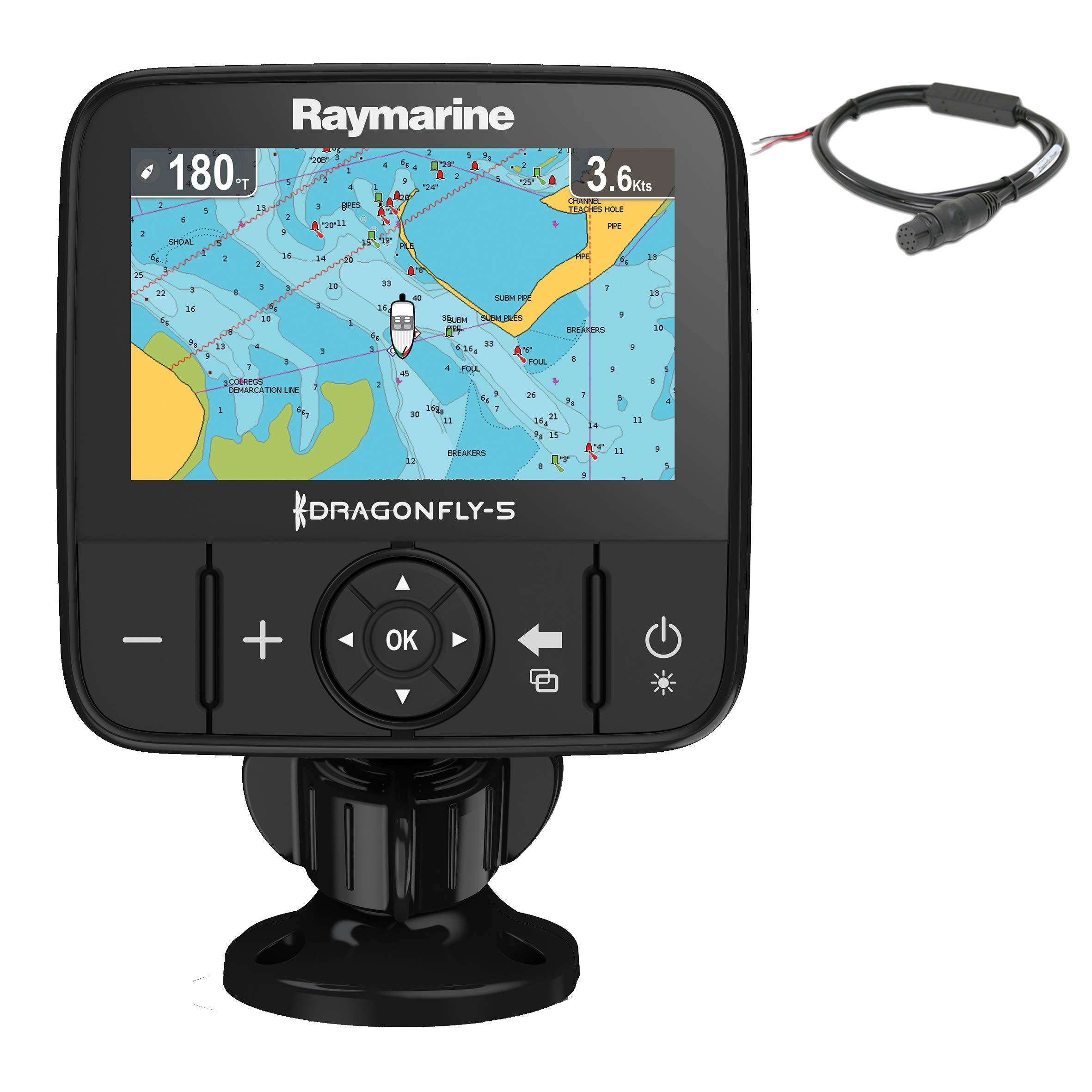 Raymarine DragonFly 5M - GPS, pantalla 5