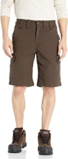 """Smith's Workwear Men's 11"""" Relaxed Fit Stretch Duck Canvas Cargo Short"""