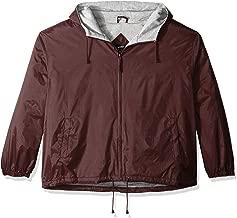 UltraClubs Men's Ultc-8915-fleece-lined Hooded Jacket
