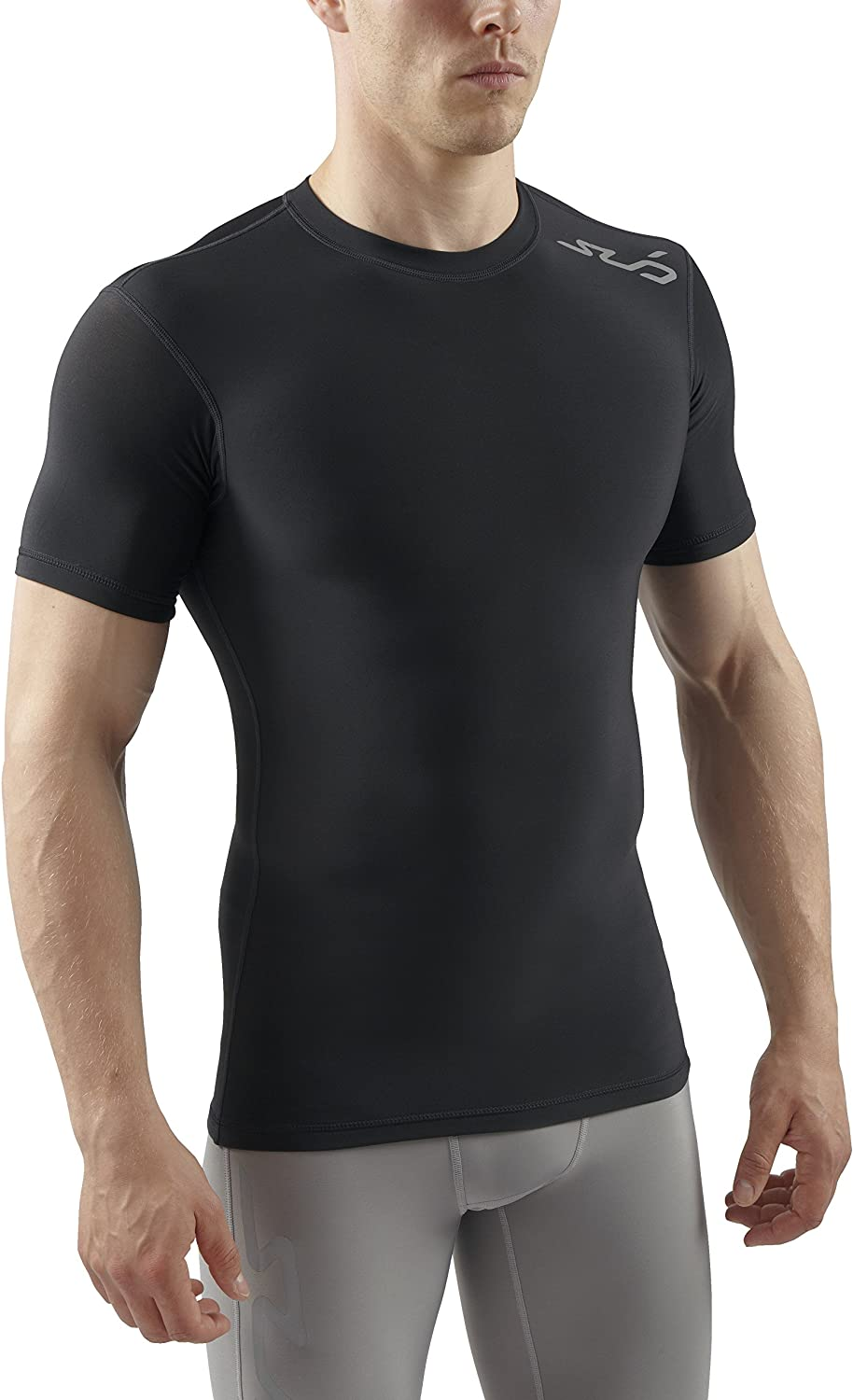 SUB Sports COLD Mens Compression Top  Short Sleeve Thermal Base Layer