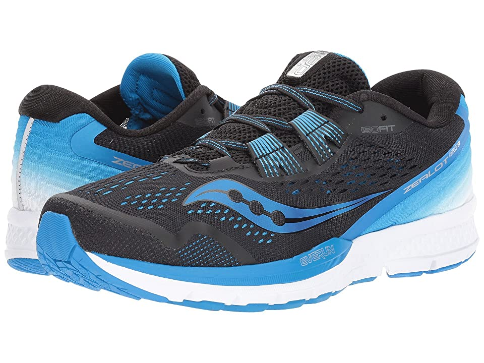 Saucony Zealot ISO 3 (Black/Blue/White) Men