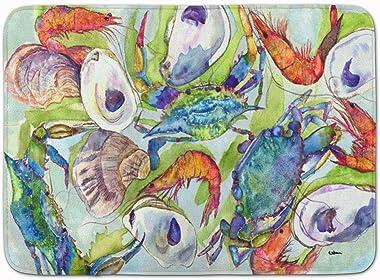 "Caroline's Treasures Crab Floor Mat, 8547RUG, Multicolor, 19"" x 27"""