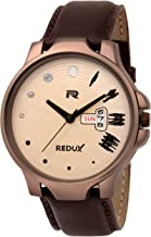 Redux Analogue Brown Dial Men's Watch - RWS0191S