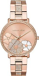 Michael Kors Women's Jaryn Rose Gold Tone Satinless Steel Watch MK3865