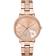 Women's Jaryn Rose Gold Tone Satinless Steel Watch MK3865