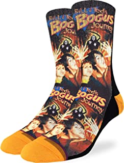 Men's Bill & Ted's Bogus Journey Socks - Adult Shoe Size 8-13
