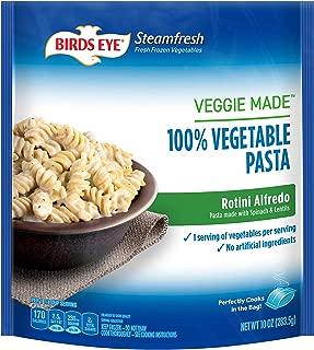 Birds Eye Steamfresh Veggie Made 100% Vegetable Pasta, Rotini Alfredo, 10 Ounce (Frozen)