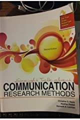Straight Talk About Communication Research Methods Paperback