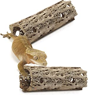 Meric Hermit Crab Log Woods, 6 Inches Long, Climbing Wood, Chew Toy, Stimulating Activity for Little Climbers, Long Dried ...