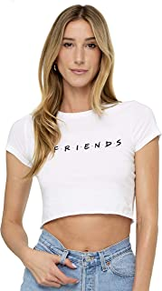friends logo crop top