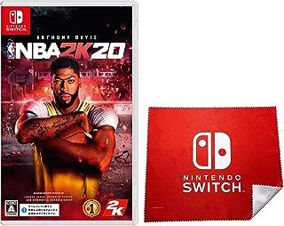 NBA 2K20 -Switch (【Amazon.co.jp限定】Nintendo Switch ロゴデザイン マイクロファイバークロス )