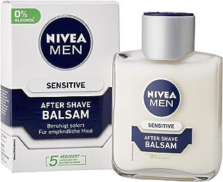 NIVEA MEN Balsam Sensitive After Shave (1 x 100 ml), kojący po goleniu z rumiankiem i witaminą E