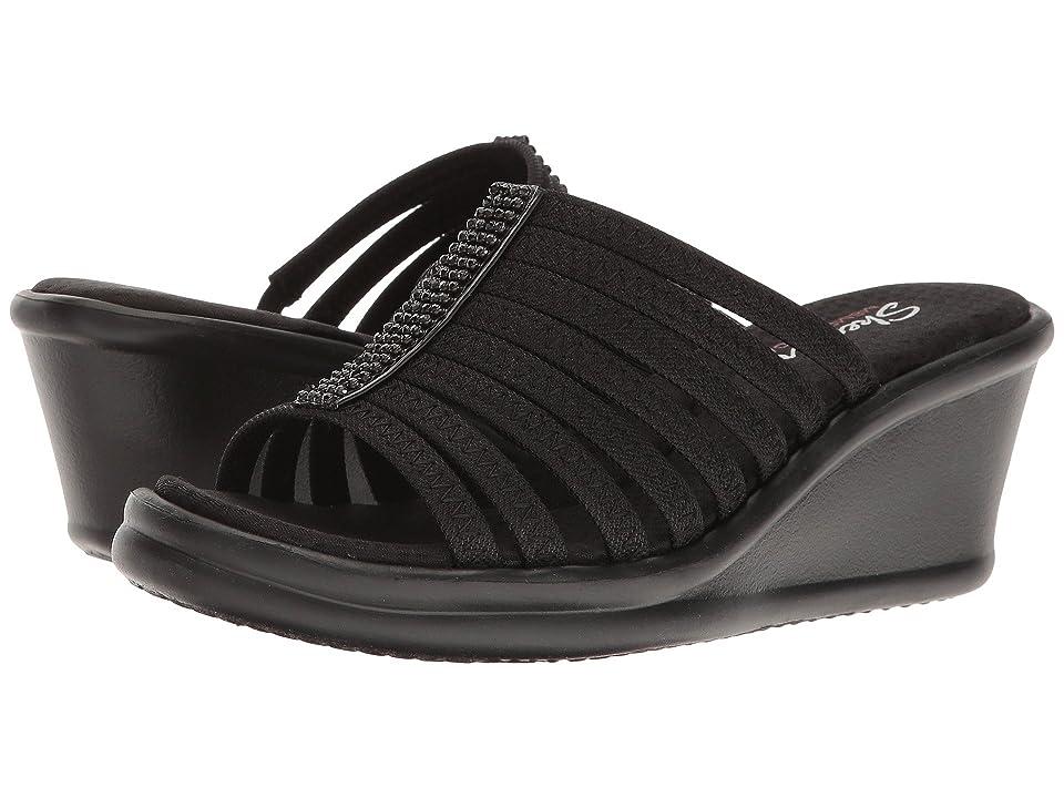 SKECHERS Rumblers - Hot Shot (Black) Women's  Shoes
